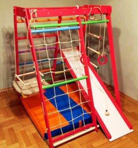 Детские спортивные комплексы в квартиру Все цвета!