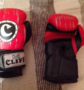 Боксерские перчатки 6-8