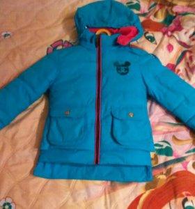 Курточка на весну 92-104 см