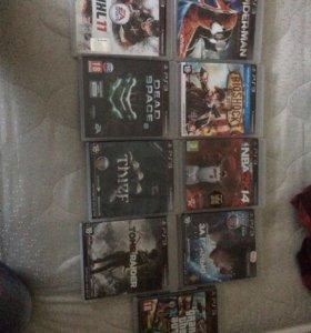 Игры,диски на ps 3