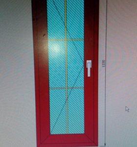 окно ламинированное с раскладкой