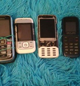 Телефоны на запчасти,в рабочем состоянии