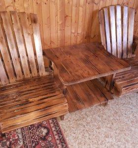 садовая мебель из ваших материалов