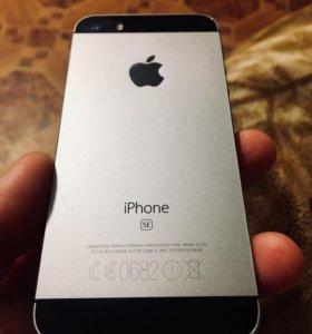 Обмен/продажа IPhone SE 16gb Space Gray Neverlock