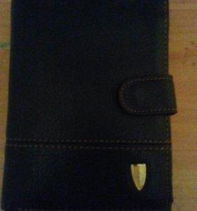 Мужской портмоне-кошелёк