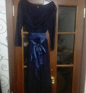 Платье новое гипюровое