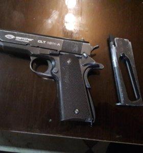 Пистолет (пневматический)