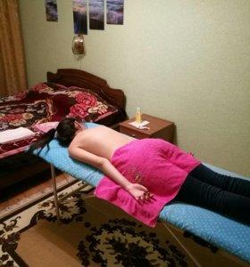 Массаж на дому,только для женского пола)