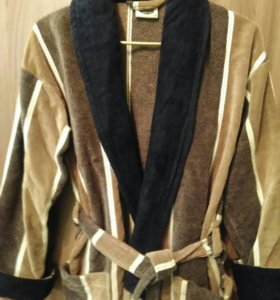 Новый мужской махровый халат 50-52 размер