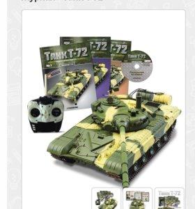 Моделирование танк 72,деагостини