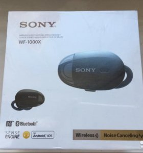 Sony WF-1000X новый оригинал