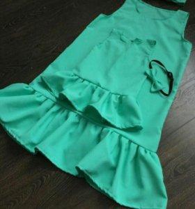 Платья мамадочь
