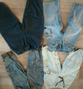 Джинсы и штанишки