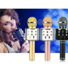 Беспроводной bluetooth караоке микрофон WS-858
