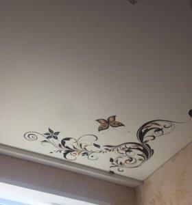 Натяжные потолки Итальянского качества!!!