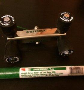 Роллер с ручкой для отделки внешних углов 90°