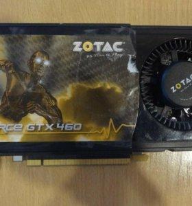 Видео карта Geforce gtx460