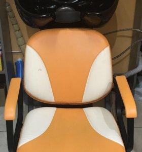 Мойка парикмахерская (глубокая)+ Кресло