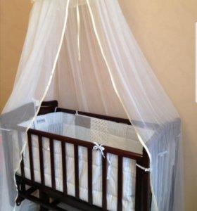Кроватка люлька  Лили в идеальном состоянии!
