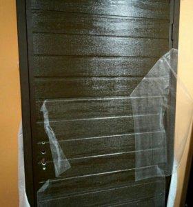 Дверь металлическая новая утепленная
