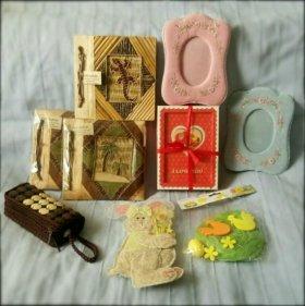 Рамки фотоальбомы декор сувенир