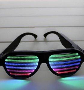 Светодиодные очки