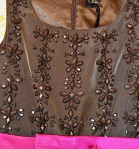 Новое вечерн. платье с камнями Испания Alex Claude