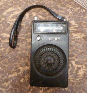Первая модель радиоприёмника ОЛИМПИК