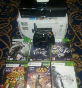 Xbox 360 Elite + kinect