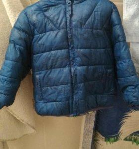 Демисезонная куртка детская размер 80