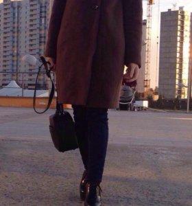 Пальто. Тёплая зима.