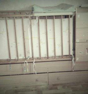 Кровать - трансформер.