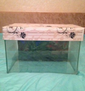 Продам аквариум на 15 литров