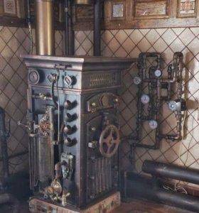 Монтаж котельных и стстем отопления