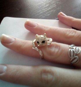 Кольцо- кошка