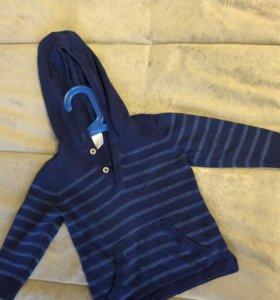 Кофта и рубашка hm