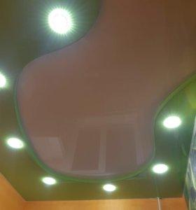 Потолки натяжные или пленка для потолка