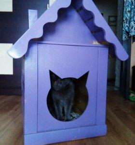 Продам будку для кошки или собаки