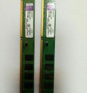 Оперативная память DDR3 2x4=8gb