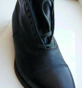 Туфли мужские кожаные, размер 39