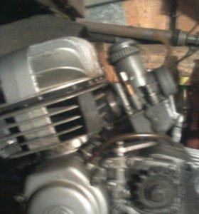 Двигатель чз 125