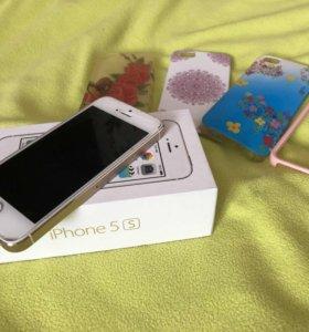 Айфон 5s Gold на 16
