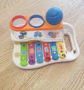 Обучающий-развивающий ксилофон музыкальный