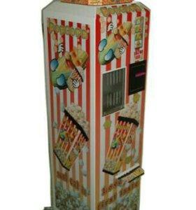 Вединговый автомат поп-корн