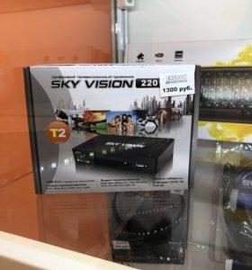 Цифровая приставка Sky Vision