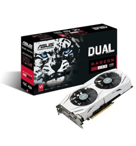 ASUS RX480 DUAL 8ГБ