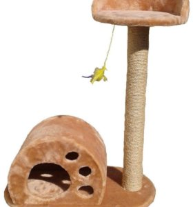Домик для кошки «лапка «
