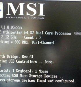 Материнская плата msi MS-7309