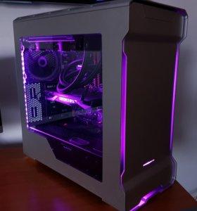 Дешево! новый Игровой компьютер Intel / GTX1050
