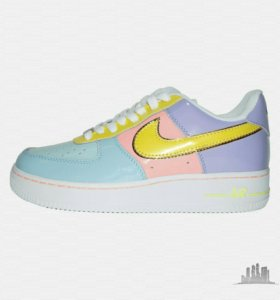 Кроссовки Nike Air Force 1 '07 Yellow Pink р.36-40
